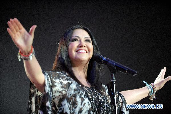 Ana Gabriel en Chile Movistar Arena
